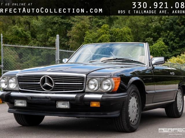 1988 Mercedes-Benz 560--SL