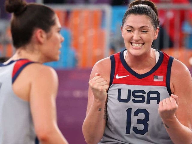 Proud queer basketballer Stefanie Dolson makes Olympics history with gold medal victory