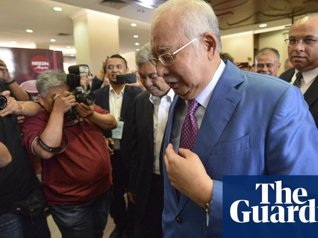 1MDB trial: former PM Najib Razak takes stand for first time over corruption charges