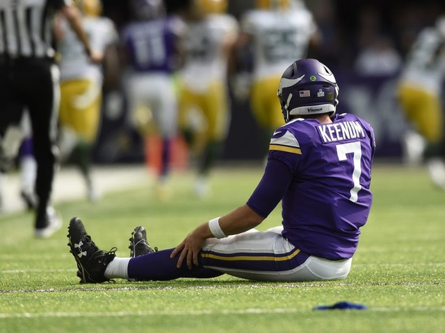 Vikings' 1st-and-40 was the longest first down since 1997