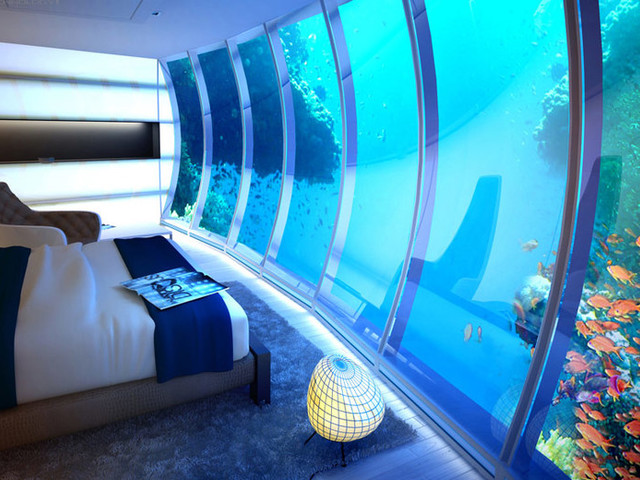 A $50,000-a-Night Underwater Hotel Room in the Maldives Shows How Oblivious We Are to Climate Change