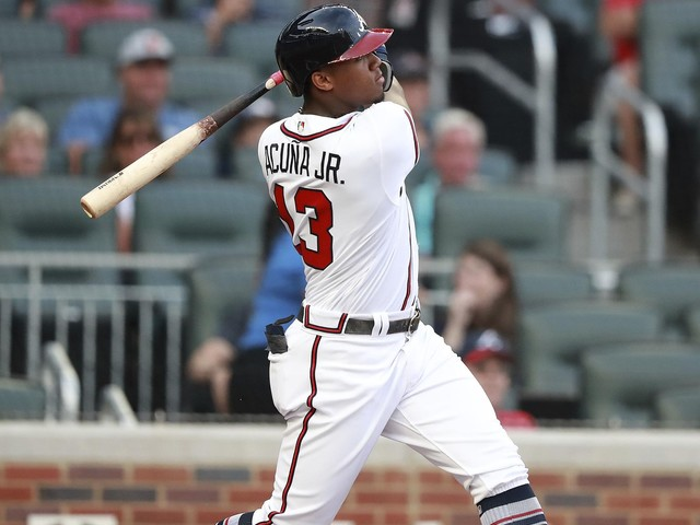 Acuna hits another leadoff homer, Braves beat Marlins 10-6