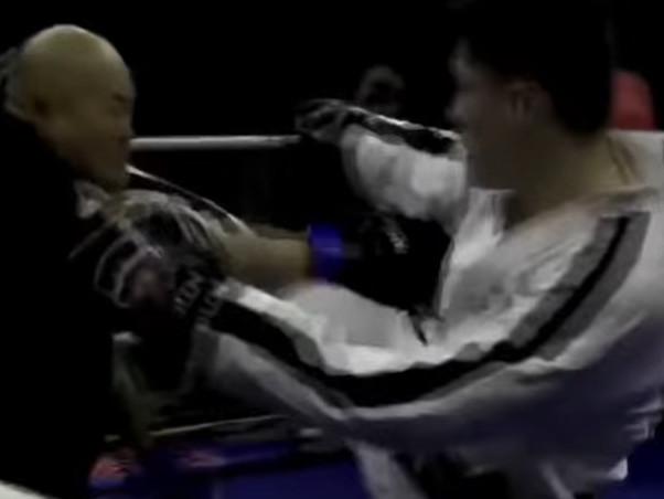 Video: 56-year-old 'kung fu' master takes on TKD black belt