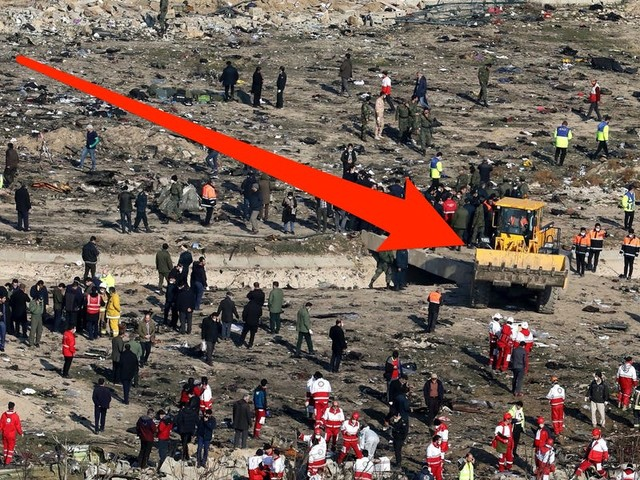 Iran is using bulldozers at the Ukrainian plane crash site, which could make it impossible to find out what really happened
