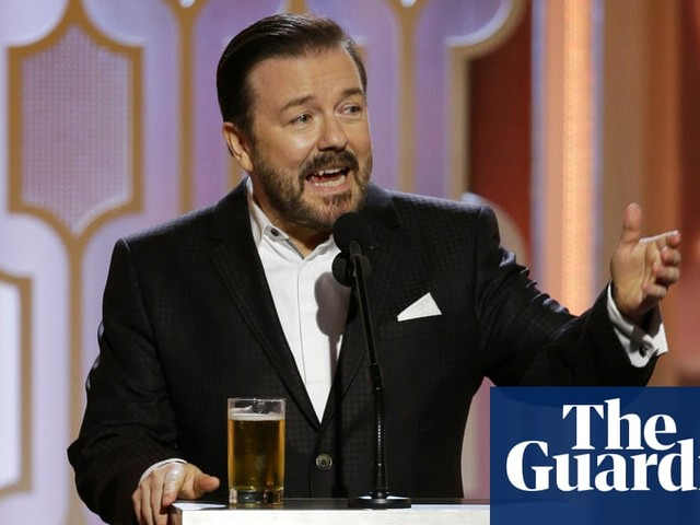 Ricky Gervais returns as Golden Globes host for a record fifth time