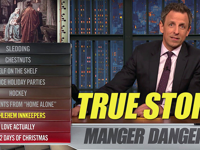 Seth Meyers Burns Almost Everything About The Holidays