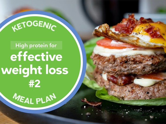 New keto meal plan: High protein for effective weight loss #2