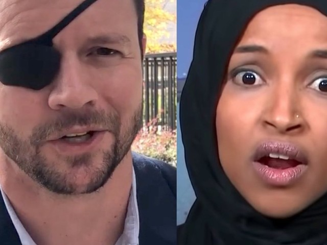 Ilhan Omar takes a shot at Dan Crenshaw, and he fires back this scorching response