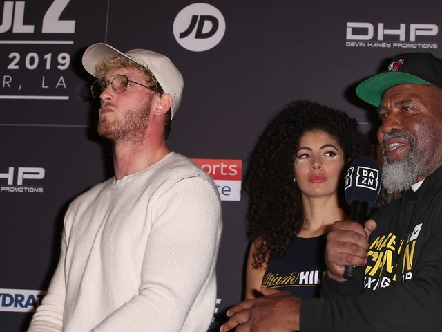 Video: Shannon Briggs gets into fight at KSI-Logan Paul 2 weigh-ins