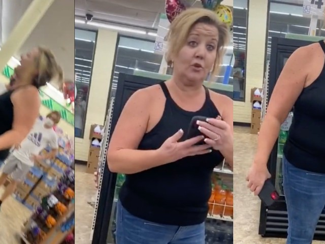 Teens laugh off homophobic Karen who is verbally abusing them at Dollar Tree