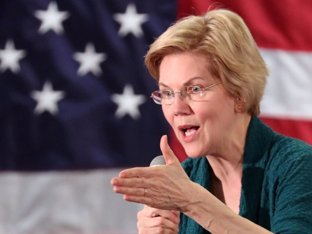 'One might say you persist': Elizabeth Warren says she's not discouraged by sexism in politics as she seeks to make history in 2020