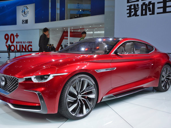 MG will return to the sports car segment with an electric coupe