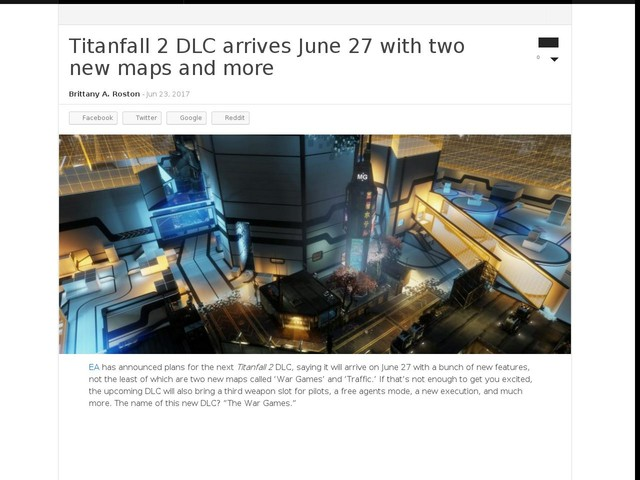 Titanfall 2 DLC arrives June 27 with two new maps and more