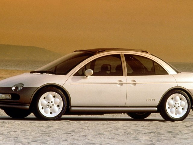 To get an idea of how big a deal the Neon was, consider all the concept cars Chrysler based on it