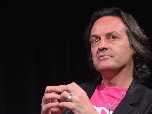 T-Mobile shares slide on report that it might lose its CEO to WeWork (TMUS)