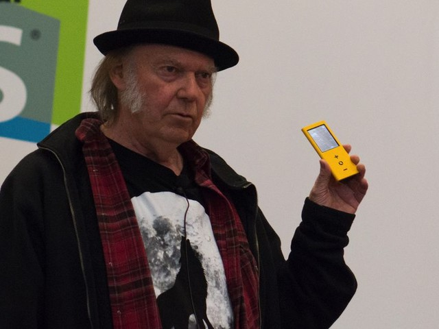 Neil Young says the MacBook Pro has 'Fisher-Price' audio quality