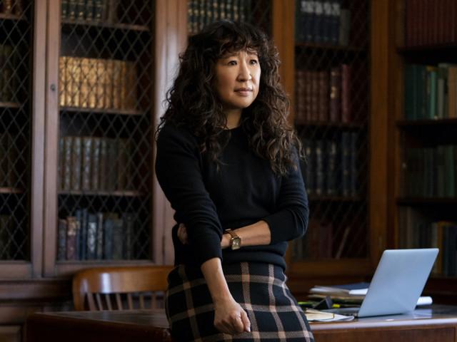 Sandra Oh and Amanda Peet unpack the themes of Netflix's 'The Chair'