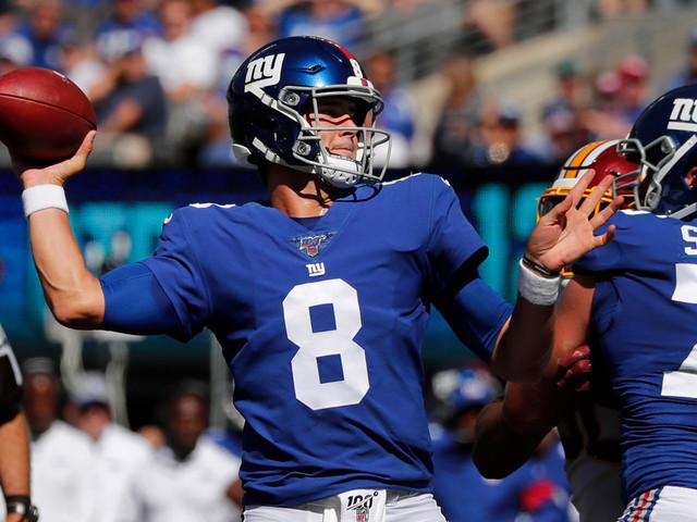 Daniel Jones' home debut turns into Giants laugher over Redskins