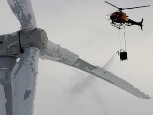 Hello Clean Energy Advocates, What Do We Do When The Wind Turbines Are All Frozen?