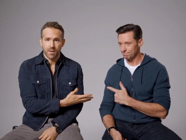 Hugh Jackman Reignites Ryan Reynolds Feud With Slanderous Ad for Frenemy's Gin