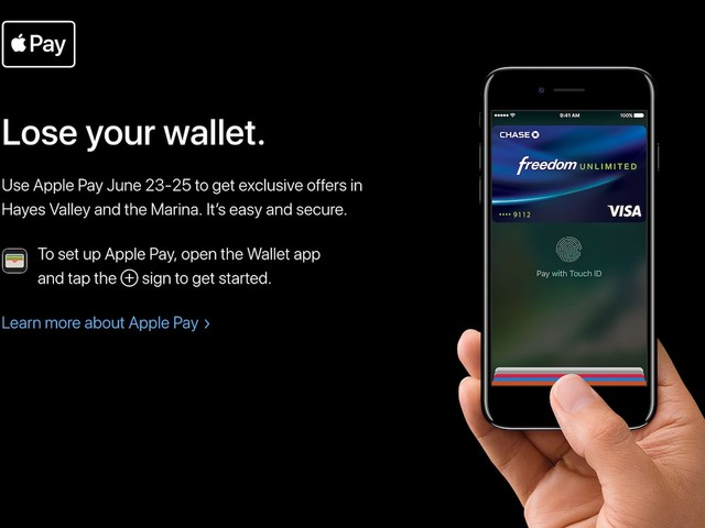 Apple Announces 'Lose Your Wallet' Apple Pay Shopping Event With Merchant Discounts in San Francisco