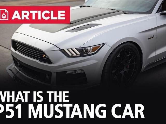 What Is The P-51 Mustang Car?