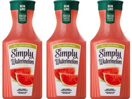 Simply Watermelon Juice only $1.25 at Kroger!