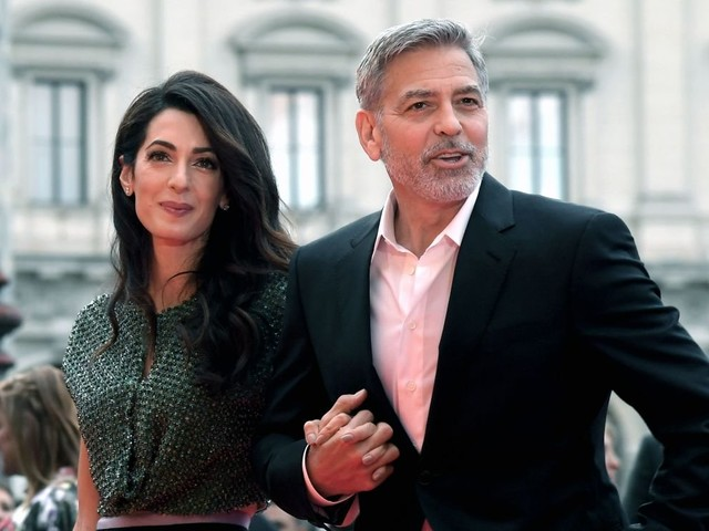 George Clooney And Amal Fighting Over Adopting A Child?