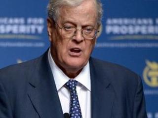 Billionaire conservative donor David Koch dies at 79