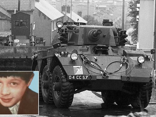 Former soldier is to be charged with 1972 murder of teenager during the Troubles