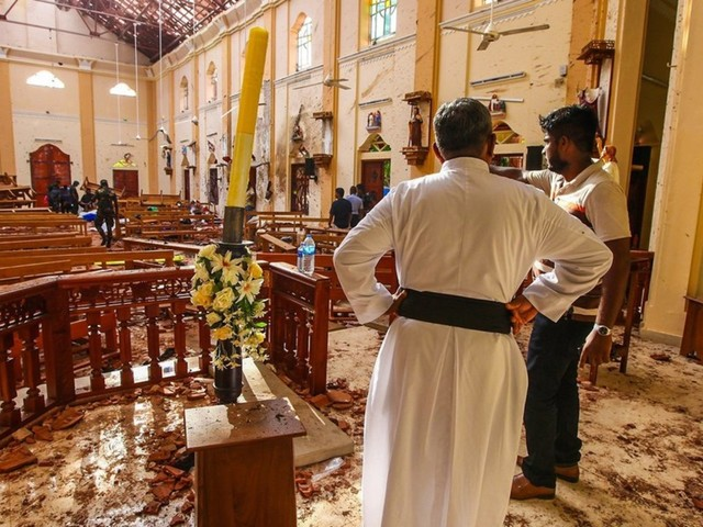 Coordinated church bombings strike Sri Lanka on Easter Sunday. Here's everything we know so far.