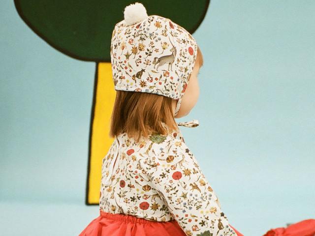 Samantha Pleet Expands Into Children's Wear with Dear Valentine