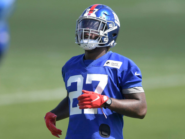 Giants waive running back Ryquell Armstead