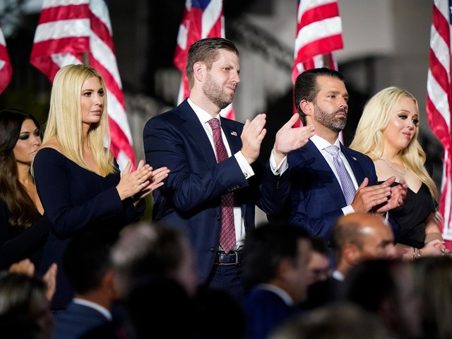 Trump's children brought Secret Service money to the family business with their visits, records show