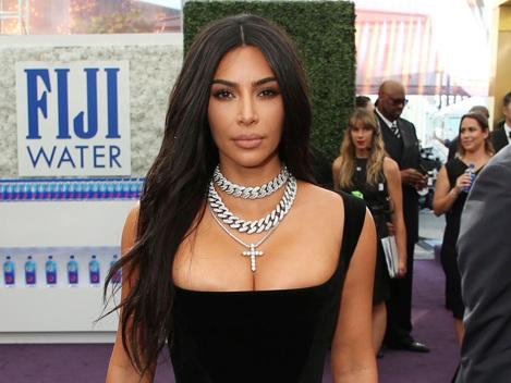 Kim Kardashian Slays In Gorgeous Black Gown At 2019 Emmys