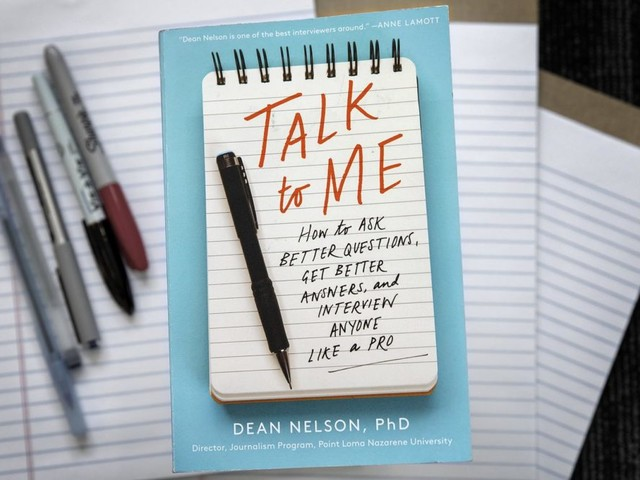Want To Know How To Ask Questions? Longtime Journalist Shows How It's Done In New Book
