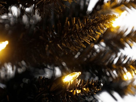 10 black artificial trees you can use for Christmas or Halloween