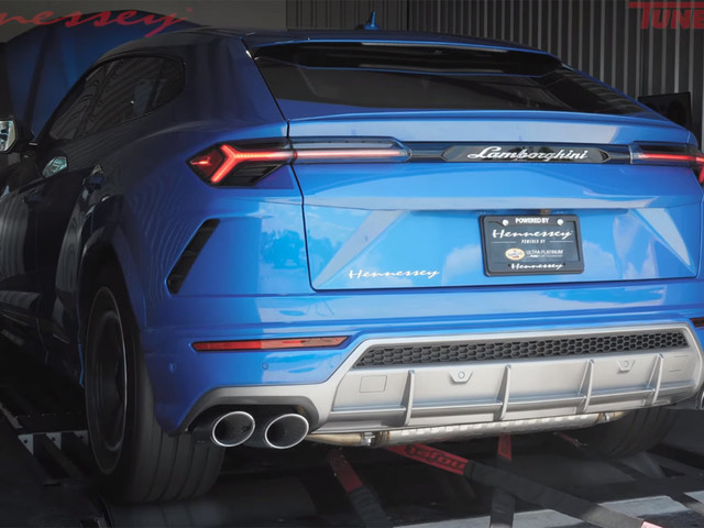 Lamborghini Urus Roars On The Dyno With Hennessey's HPE750 Package