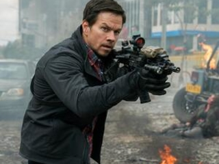 Review: Wahlberg and Berg's 'Mile 22' is a dizzying assault