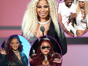 2019 BET AWARDS: Leathered Down Rihanna Presents Mary J. Blige With Lifetime Achievement Award + Mary Brings Out Lil Kim & Method Man For Epic Performance