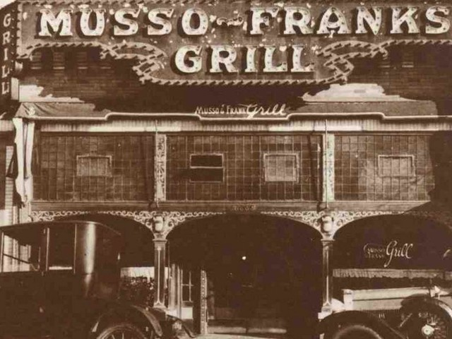 Musso & Frank, one of LA's oldest restaurants, may never die