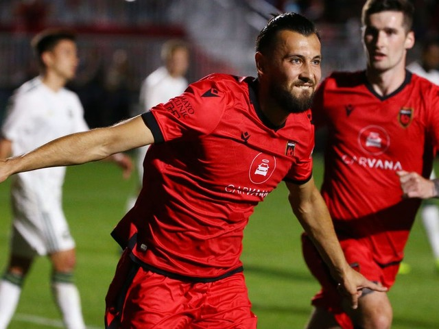Phoenix Rising, which had player suspended for using a homophobic slur, could host USL championship game