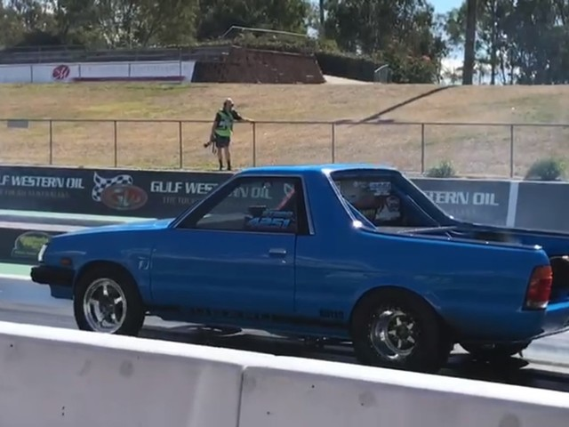 A Subaru BRAT Just Ran a Quarter-Mile in Less Than 8 Second And We're Not Sure if This is Real Life