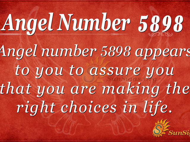 Angel Number 5898 Meaning: Making Decisions