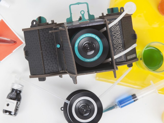 The LomoMod No.1 Cardboard Camera Comes with a Crazy 'Liquid-Filled Lens'