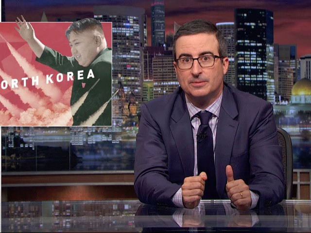 John Oliver explains North Korea, that other giant crisis you forgot about