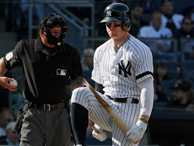 Clint Frazier continues to be answer to Yankees' injury woes