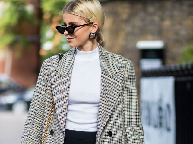 All The Ways To Wear Glen Plaid This Fall
