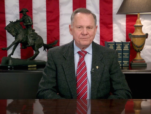 Roy Moore Still Refuses to Concede and Just Released a Video Listing the Bonkers Reasons Why