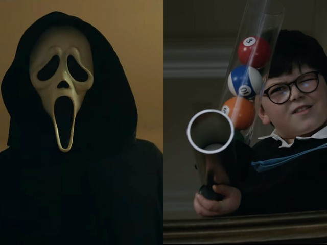 Trailers for 'Scream' and 'Home Sweet Home Alone' show 2 different sides of nostalgia coin